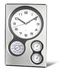 016bab24666 Orologio da muro - SLE14427. Orologio da muro - SLE14427 con igrometro e  termometro ...